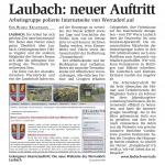 """HNA """"Laubach: Neuer Auftritt"""""""