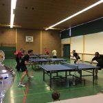 Tischtennis-Vereinsmeisterschaften 2017
