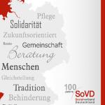 Einbladung: 100 Jahre SoVD