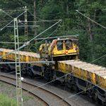 Gleisbauarbeiten der Deutschen Bahn beendet