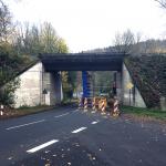 Brückenbauarbeiten bis 24.11.2017