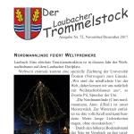 Trommelstock 72 - Nordmannlinde feiert Weltpremiere
