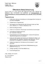 2018-10-12 Einladung Sitzung Stadtrat 17.10.2018