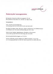 2018-12-07 Änderung d. Leerungstermine f. Komposttonne