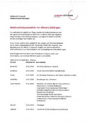 2018-12-07 Weihnachtsbaumabfuhr im Altkreis Göttingen