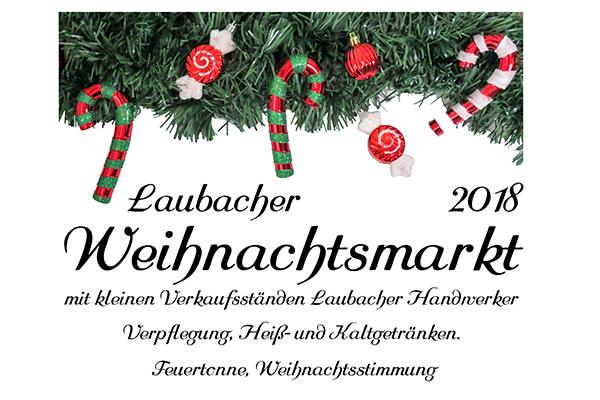 Fi Einladung Weihnachtsmarkt Laubach 2018 Laubach Im Werratal